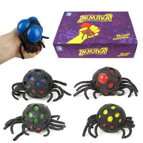 Сквиш жмяка-паук (слайм)