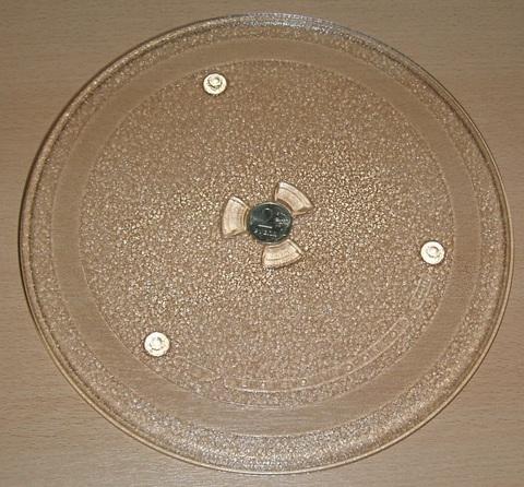 Тарелка СВЧ 255mm (с крепл.2руб.), SAMSUNG    DE74-00027A