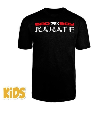 Футболка детская Bad Boy Karate Discipline Youth T-shirt Black&