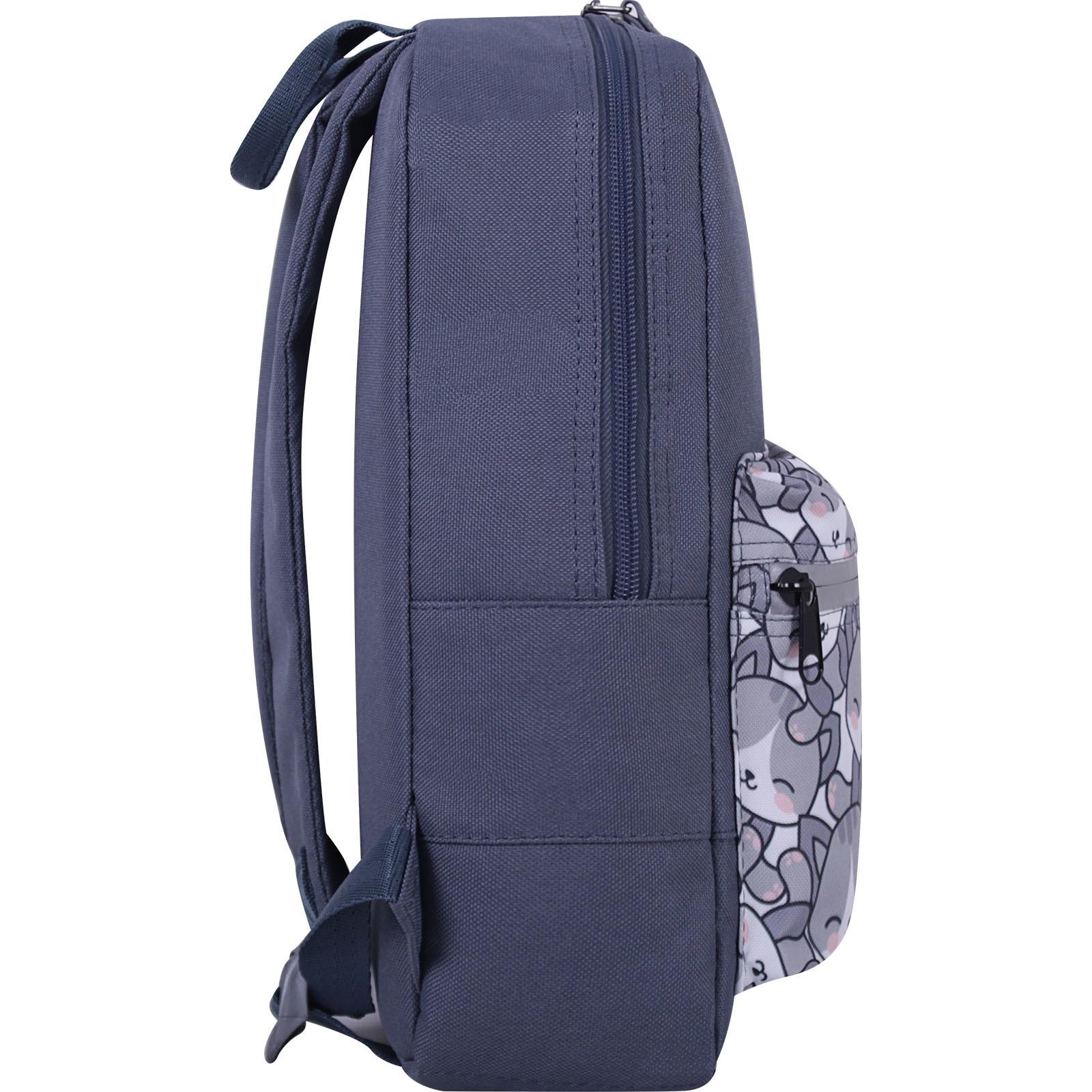 Рюкзак Bagland Молодежный mini 8 л. серый 756 (0050866) фото 2