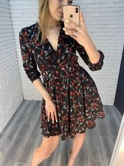 темное летнее платье недорого
