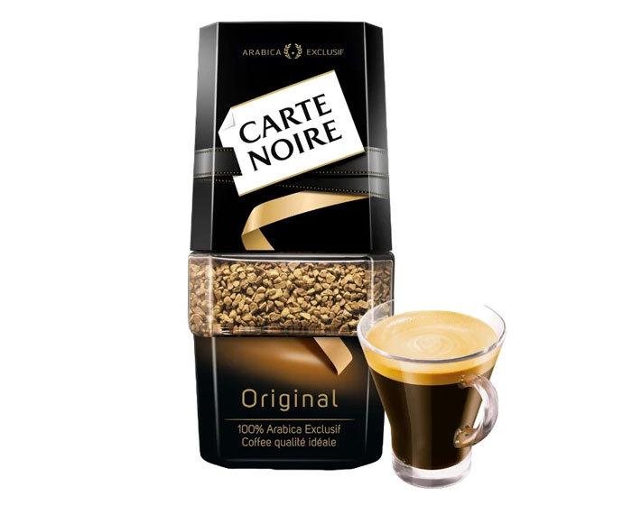 купить Кофе растворимый Carte Noire Original, 47,5 г стеклянная банка