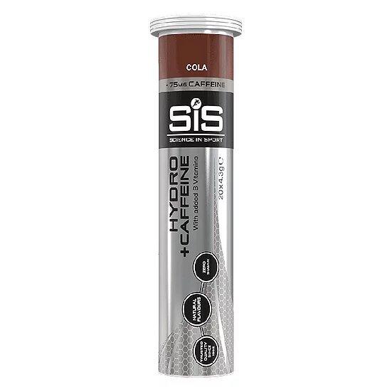 Электролит с кофеином SiS Hydro Electrolyte + Caffeine - Упаковка 8х20 Кола