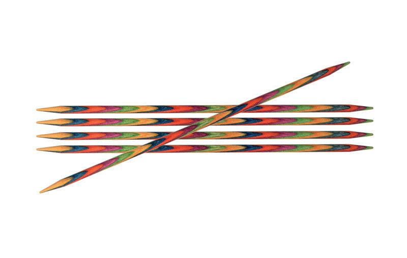 Спицы KnitPro Symfonie чулочные 3,75 мм / 15 см 20135