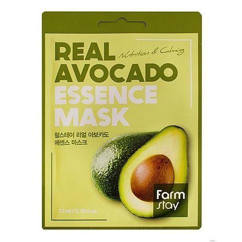 FarmStay Маска тканевая для лица с экстрактом авокадо - Real avocado essence mask, 23мл