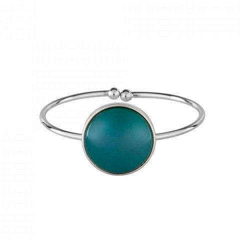 Браслет Pearl Green Agate C1374.17 G/S