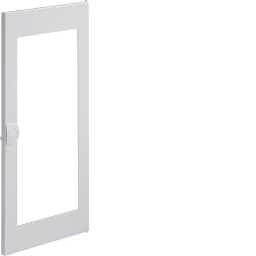 Дверца с прозрачным окном запасная, для встраиваемого щитка,Volta,3-рядного RAL9010