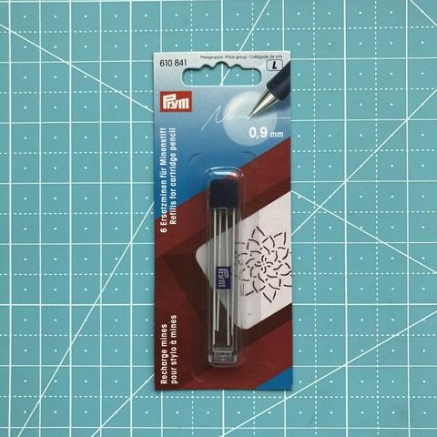 Сменные грифели для механического карандаша 0,9 мм  6 шт (Prym)  (Арт. 610841)