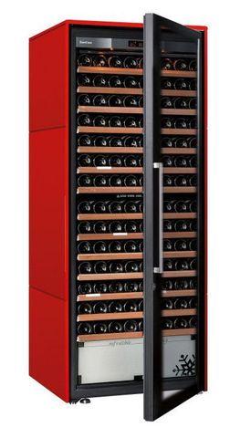 Винный шкаф EuroCave D Collection L красный сатин, максимальная комплектация