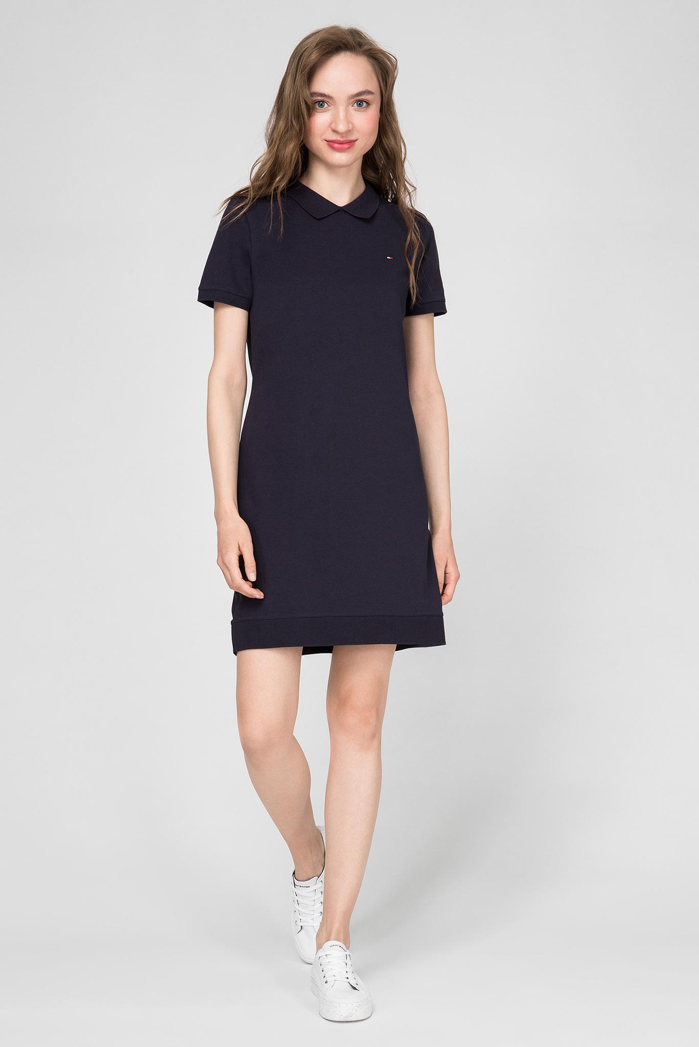 Женское темно-синее платье Relaxed Fit Tommy Hilfiger