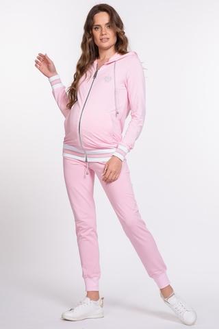 Спортивный костюм для беременных и кормящих 10043 розовый