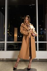 Пальто из кашемира с поясом интернет магазин