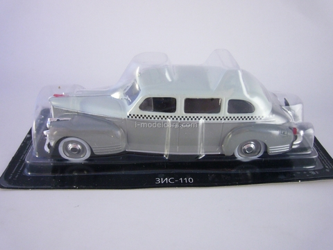 ZIS-110 Taxi white-gray 1:43 DeAgostini Auto Legends USSR Best #25