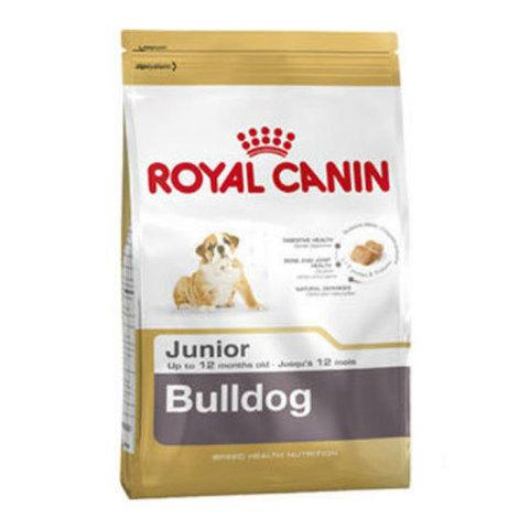 12 кг. ROYAL CANIN Сухой корм для щенков породы английский бульдог Bulldog 30 Junior