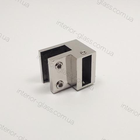 Соединитель труба-стекло 90° ST-309 PSS нерж. сталь
