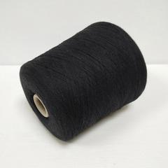 Linsieme, Wool100, Шерсть ягненка 100%, Черный, 2/30, 1500 м в 100 г
