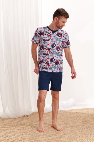 Мужская пижама 20W Piotr 2471-01 Taro
