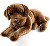 Мягкая игрушка Лабрадор шоколадный 50 см (Leosco)