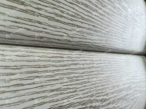 Сайдинг Ю пласт Тимберблок акриловый ясень беленый 3400х230 мм