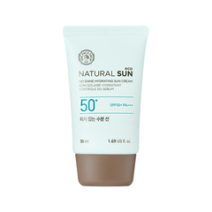 Солнцезащитное средство THE FACE SHOP Natural Sun Eco No Shine Hydrating Sun Cream 50ml