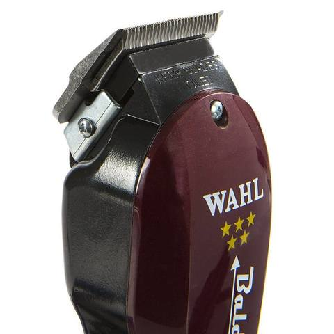 Машинка для стрижки Wahl Balding 5Star, сетевая, 2 насадки, бордовая