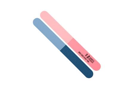 Пилка-шлифовка для ногтей Mertz № 956. Абразивность #120/240/280/320 грит.