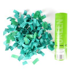 Пневмохлопушка Зеленое конфетти AC 20см