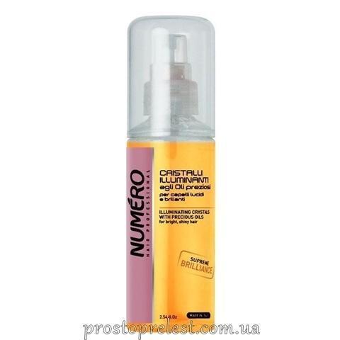 Brelil Numero Liquid Crystals For Shine On The Basis Of Oils - Жидкие кристаллы для блеска волос на основе ценных масел