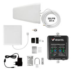 Усилитель сотовой связи VEGATEL VT-1800E/3G-kit (дом, LED)