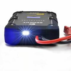 Работа фонаря пускового устройства BERKUT JSC-600C HYBRID