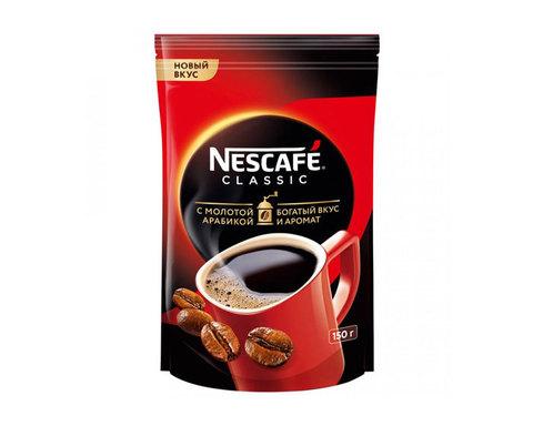 купить Кофе растворимый Nescafe Classic с добавлением молотой арабики, 150 г