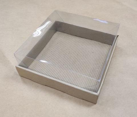 Kleona Подарочная коробка 16*11*6 (крафт)