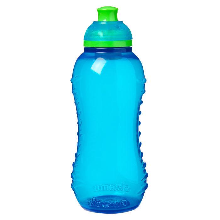 """Бутылка для воды Sistema """"Hydrate"""" 330  мл, цвет Голубой"""