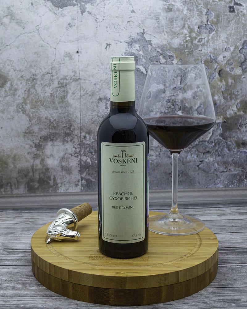 Вино Voskeni Красное сухое 13,5% 0,375 л.