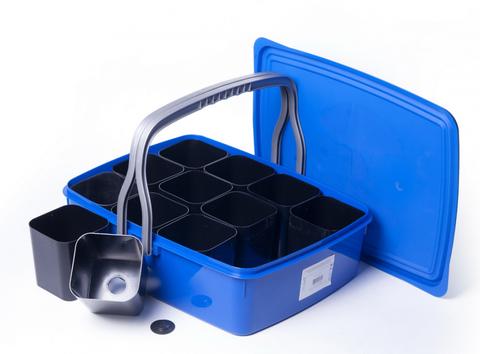 Набор для выращивания рассады в контейнере 10 л (12 стаканчиков ) ПИ-3-2ТХ