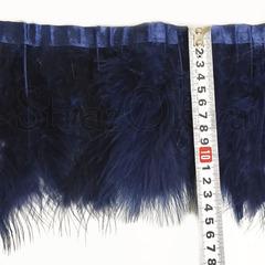 Купить оптом перья Марабу на ленте Montana темно-синие в интернете