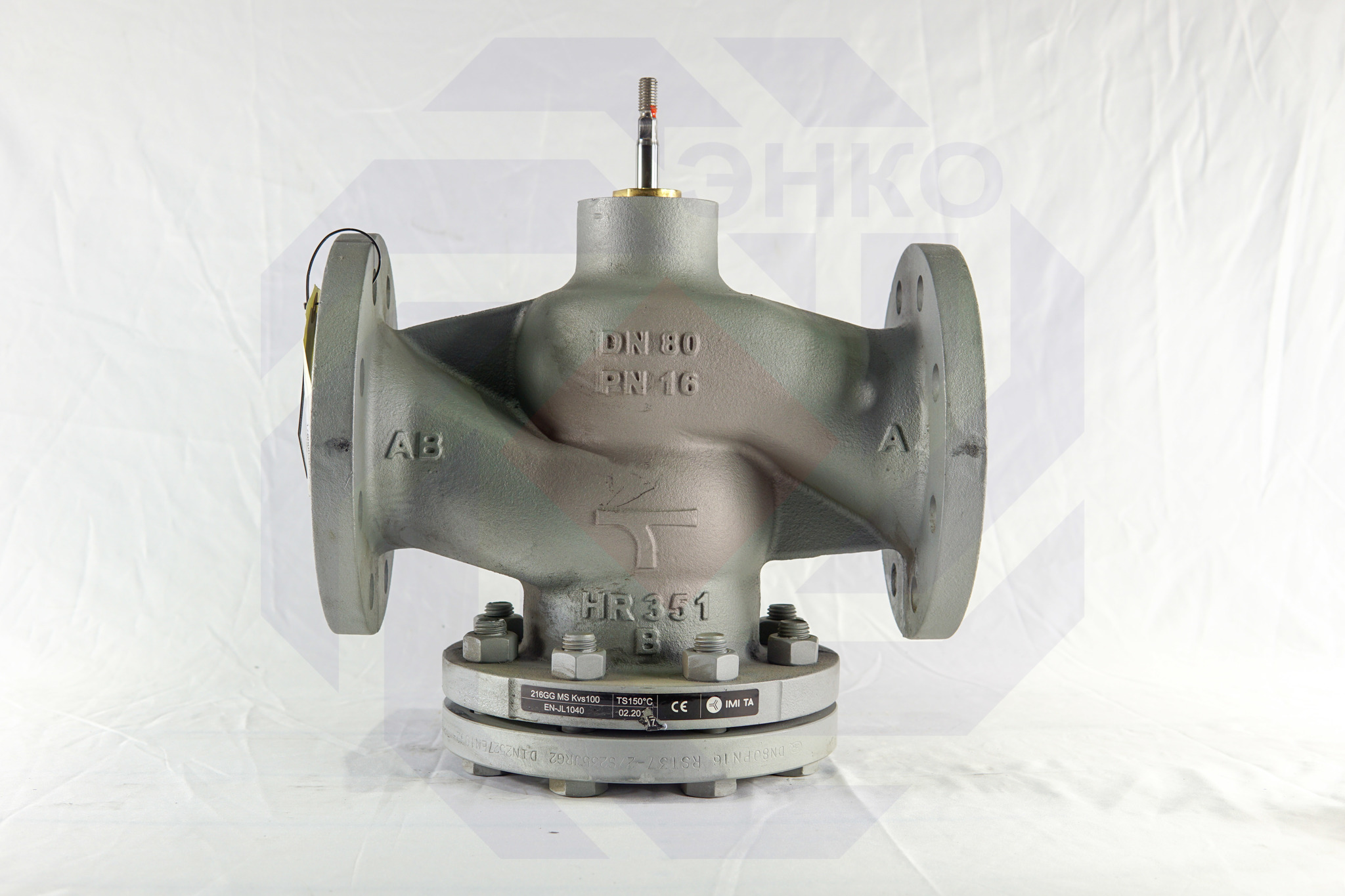 Клапан регулирующий двухходовой IMI CV216 GG DN 80