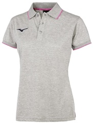 Поло Mizuno Polo Grey женское