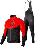 Утеплённый лыжный костюм 905 Victory Code Go Fast Dynamic с высокой спинкой мужской