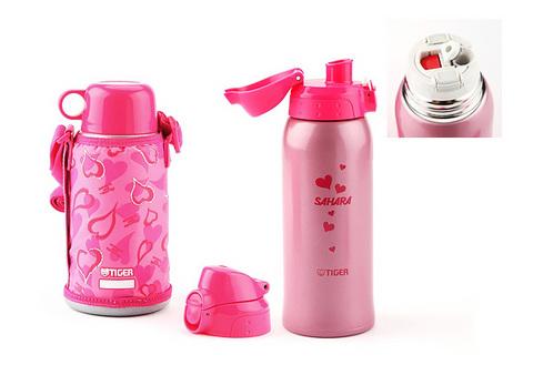 Термос Tiger MBO-A (0,8 литра), розовый