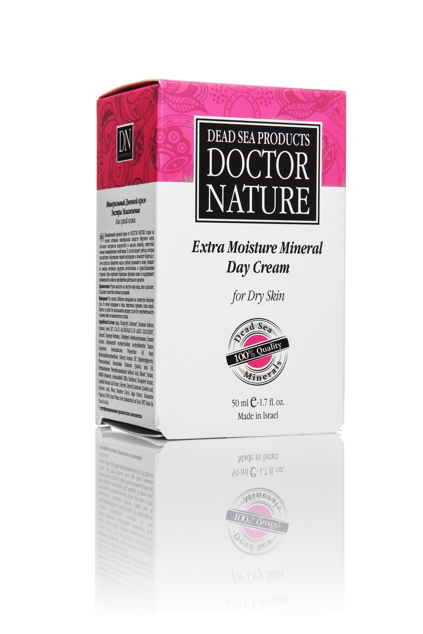Doctor Nature дневной крем Экстра увлажнение 50 мл.