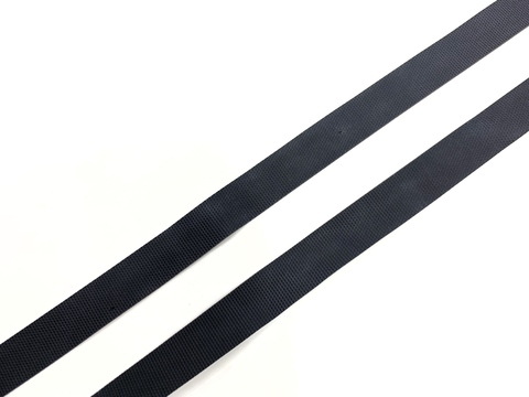 Резинка латексная для купальника черная 12 мм