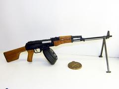 Kalashnikov RPK74 scale 1:4