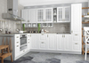 Модульный кухонный гарнитур «Гранд» 2000/2800 мм (Белый), ЛДСП/МДФ, ДСВ Мебель