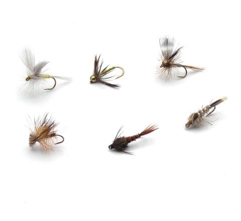 Набор мушек на хариуса Pacific Fly Group Best Grayling Flies №1 р. М., 6 шт. (70003751)