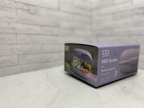 Ланч-бокс детский для еды MB Gram 600 мл контейнер для детей в школу purple ballet