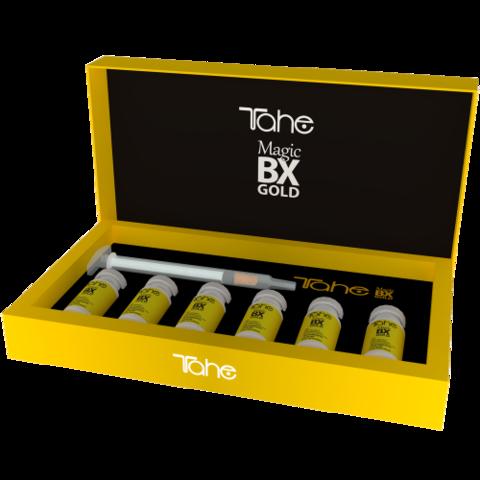 MAGIX BX GOLD-Treatment Ботокс для волос, усиленная формула Кейс 6 ампул (6*10 мл)