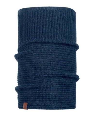 Шарф-труба вязаный Buff Neckwarmer Knitted Biorn Dark Denim фото 1