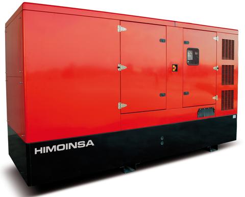 Дизельный генератор Himoinsa HIW-250 T5 в кожухе