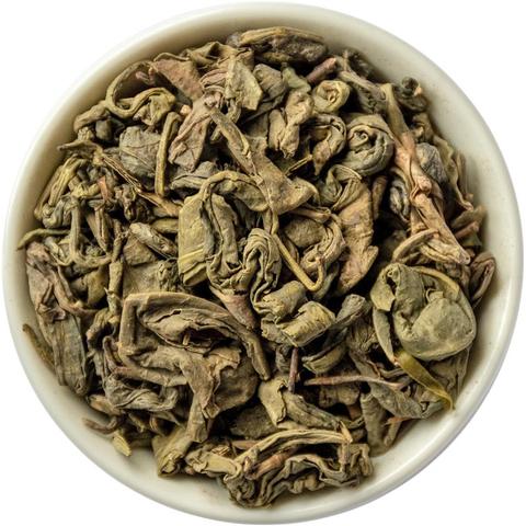 Зеленый крупнолистовой чай порох (Ганпаудер 9375)